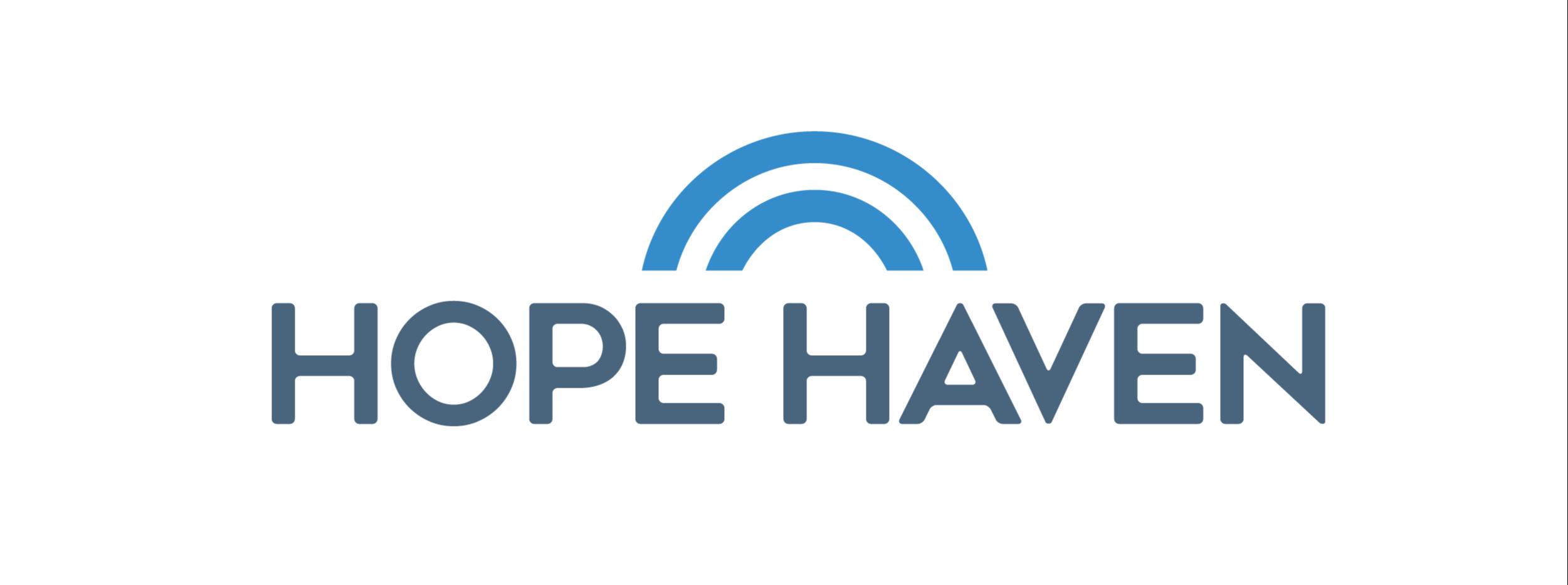 Nonprofit logo design, Hope Haven