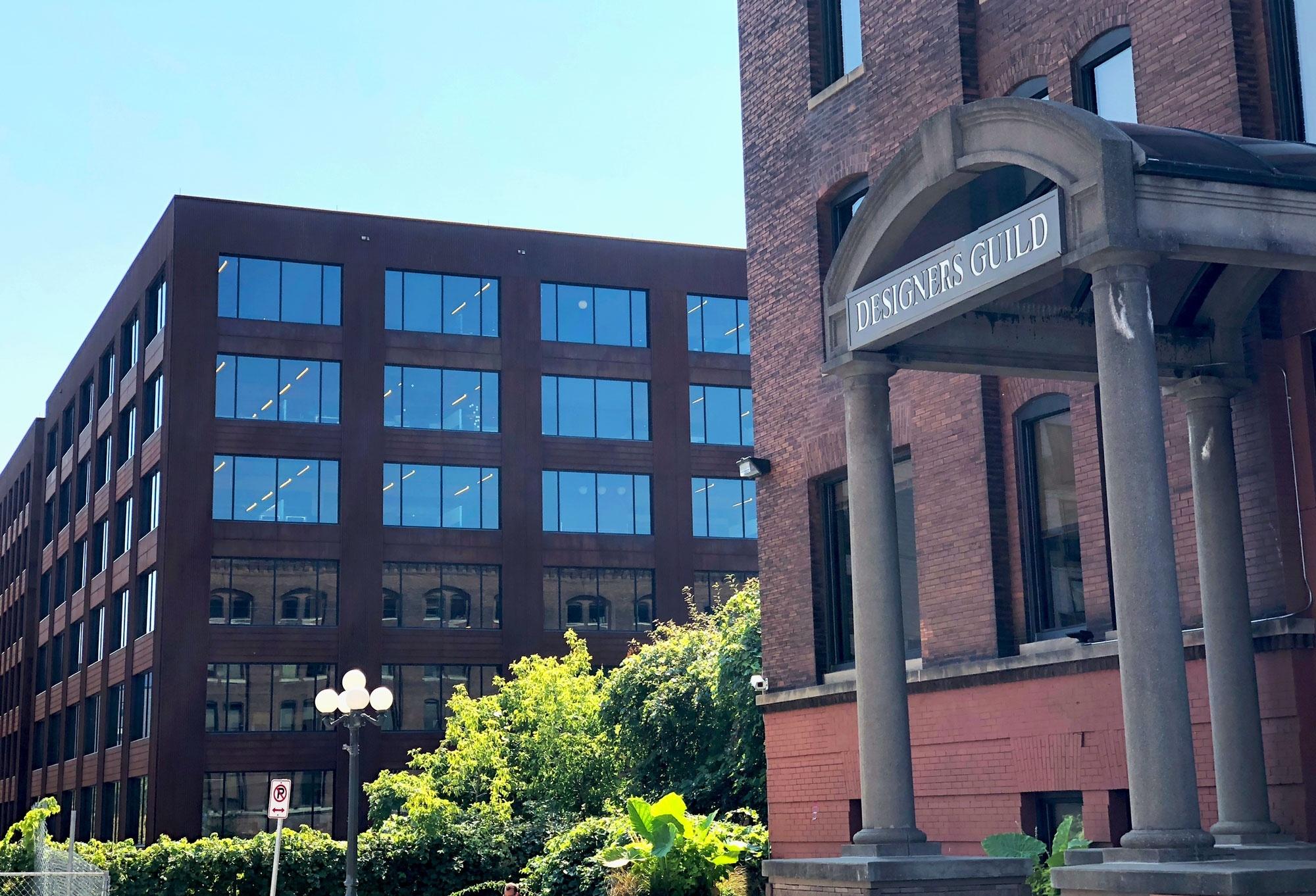 The Designer's Guild Building front entrance